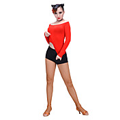 ラテンダンス トップス 女性用 ダンスパフォーマンス プロミックス 1個 長袖 トップス