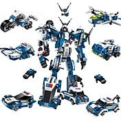 DIYキット ブロックおもちゃ 飛行機 戦闘機 おもちゃ ロボット 人物 車 DIY クラシック 新デザイン 成人 小品