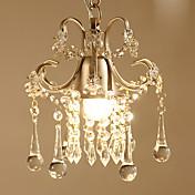 Cristal Lámparas Colgantes Luz Downlight - Cristal, Bombilla incluida, 110-120V / 220-240V, Blanco Cálido, Bombilla incluida / 5-10㎡