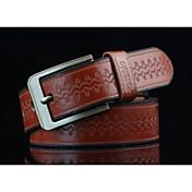 Hombre Retro Estampado Jacquard, Legierung Cinturón de Cintura - Diseño