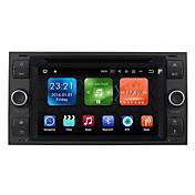 7 pulgada 2 Din Android 7.1 Alta Definición / Bluetooth / Bluetooth Integrado para Ford Apoyo / GPS / RDS / Wifi / Pantalla Táctil