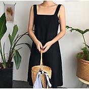 レディース お出かけ 夏 Tシャツ(21) スカート スーツ,シンプル ボートネック ソリッド 七分袖
