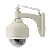 wanscam® al aire libre impermeable 720p 1.0mp ptz seguridad ip cámara inalámbrica