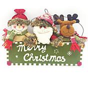 1pc Navidad ornamentos de Navidad, Decoraciones de vacaciones 38X26CM