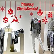 動物 クリスマス 文字 ウォールステッカー プレーン・ウォールステッカー 飾りウォールステッカー,ビニール 材料 ホームデコレーション ウォールステッカー・壁用シール