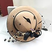 Mujer Sombrero Playero - Sombrero Tradicional / Retro Moderno Elegante Un Color