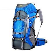 60 L ハイキング用デイパック バックパック ハイキング キャンピング クロスカントリー トレイルラン 防風 耐久性 通気性 ライトウェイト ナイロン 丰途