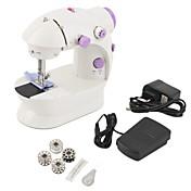 mini ajuste de velocidad dual de la máquina de coser del PDA con la máquina de coser de los hilos ligeros del pie doble