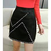 レディース 膝上 スカート