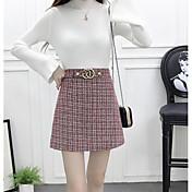 Mujer Mini Faldas,Línea A