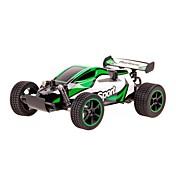 Coche de radiocontrol  23212 2.4G Buggy Alta Velocidad Todoterreno Carro de Carreras 1:20 Brush Eléctrico 60 KM / H Control remoto