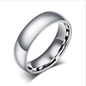 joyería básica del círculo del acero de titanio de las mujeres de los hombres para el banquete de boda