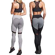 Yoga Medias/Mallas Largas Prendas de abajo Yoga Fitness Alta elasticidad Alta elasticidad Ropa deportiva Mujer-丰途