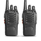 BAOFENG 2 Pcs BF-888S Walkie Talkie  Portátil Aviso Por Batería Baja Programable con Software de PC Comando por Voz VOX Desconexión por