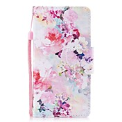 Funda Para Samsung Galaxy S8 Plus S8 Cartera Soporte de Coche con Soporte Flip Diseños Magnética Cuerpo Entero Flor Dura Cuero Sintético