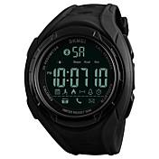 Hombre Niños Reloj Casual Reloj Deportivo Reloj de Moda Chino Cuerda Automática Bluetooth Calendario Resistente al Agua Podómetro