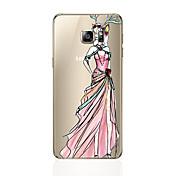 Funda Para Samsung Galaxy S8 Plus S8 Diseños Cubierta Trasera Chica Sexy Suave TPU para S8 Plus S8 S7 edge S7 S6 edge plus S6 edge S6