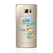 Funda Para Samsung Galaxy S8 Plus S8 Diseños Cubierta Trasera Gato Suave TPU para S8 Plus S8 S7 edge S7 S6 edge plus S6 edge S6