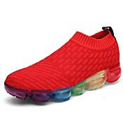 Hombre Zapatos Tul Primavera Otoño Confort Zapatillas de Atletismo Running para Deportivo Casual Blanco Negro Rojo