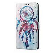 Funda Para Xiaomi Redmi Note 5A Redmi Note 4X Soporte de Coche Cartera con Soporte Flip Magnética Diseños Atrapasueños Dura para
