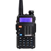 BAOFENG Walkie Talkie  Portátil Banda Dual 5KM-10KM 5KM-10KM Walkie talkie Radio de dos vías