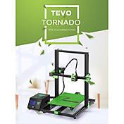 tevo® tornado diy kit de impresora en 3D 300 * 300 * 400 mm de gran tamaño de impresión 1.75 mm 0.4 mm soporte de boquilla fuera de línea de