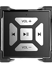 Controle remoto do botão de mídia bluetooth para o telefone com função selfie