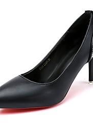 Feminino Sapatos Couro Ecológico Outono Inverno Solados com Luzes Saltos Rasteiro Ponta Redonda Cadarço Para Casual Preto Khaki