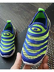 Para Meninos sapatos Malha Respirável Outono Inverno Conforto Tênis Para Casual Roxo Azul Rosa claro