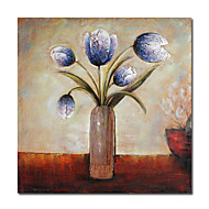 billiga Stilleben-handmålade abstrakta oljemålningar med sträckt ram