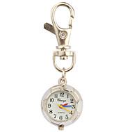 Kadın's Moda Saat Bilek Saati Anahtarlık Saati Quartz Spor Saat Bant Beyaz