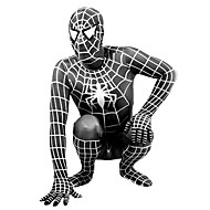 Zentai odijela Super Heroes Pauci Movie & TV Theme Costumes Zentai odijela Cosplay Nošnje Crn Print Kolaž Hula-hopke / Onesie Zentai
