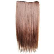 Clip-in i syntetiske rette hairextensions med 5 klips - 6 farger tilgjengelig