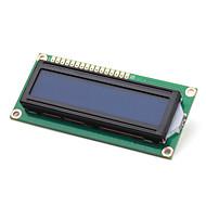 elektronikk DIY (for arduino) LCD-modul 1602, hvitt på blått med bakgrunnsbelysning