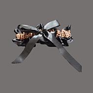 Satin Mode Bryllup Garter  -  Leopard Print Strømpebånd