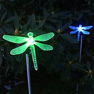 baratos Luzes do caminho-1pç Jardim Lights / Luzes do gramado Contas LED LED de Alta Potência Instalação Fácil / Decorativa Multicolorido