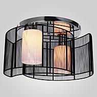 billige Taklamper-SL® Takplafond Omgivelseslys galvanisert Metall Stof Mini Stil 110-120V / 220-240V Pære ikke Inkludert / E26 / E27