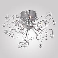 お買い得  クリスタル風シャンデリア-シャンデリア / 埋込式 アンビエントライト - クリスタル, 110V / 110-120V / 220-240V 電球付き / 15-20㎡ / 20-30㎡