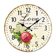 levne -země květinové nástěnné hodiny