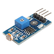6495 Fotoweerstand Light Sensor Module voor Smart Car (Black & Blue)