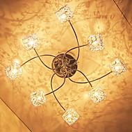 olcso -LWD Mennyezeti lámpa Süllyesztett lámpa Galvanizált Fém Kristály 110-120 V / 220-240 V Az izzó tartozék / G4