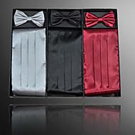 baratos Acessórios de Moda-Homens Casual Cinto para a Cintura Sólido