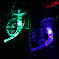 クリスマスのための6M 32-LEDの楽器の形のカラフルなライトストリングフェアリーランプ(220V)