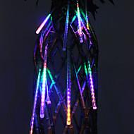 cheap LED Strip Lights-30cm Festival Decoration Colorful LED Meteor Rain Lights for Party (8-Pack, 110-220V)