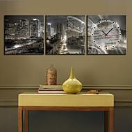 Moderni/nykyaikainen Maisema Seinäkello,Neliö Kanvas 12*12;16*16;20*20;24*24 Kello
