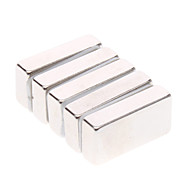 cheap -Magnet Toy Building Blocks / Neodymium Magnet / Super Strong Rare-Earth Magnets 5pcs 20*10*5mm Magnet Magnetic Gift