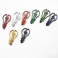 halpa -lamppu tyyli värikäs paperiliittimet (random väri, 10-pack)