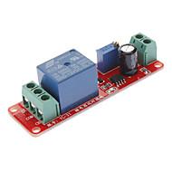 Zpoždění časový spínač nastavitelný od 0 do 10 na druhém místě s NE555 12V vstup oscilátoru