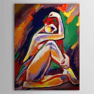 Χαμηλού Κόστους Artist - Hook Kong-Χέρι Βαμμένο Άνθρωποι Ελαιογραφία Γυμνό με τεντωμένο Frame 1306-LS0285