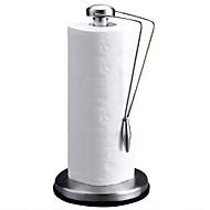 מטבח נירוסטה נייר מגבת מחזיק ניקיון נייר לעמוד